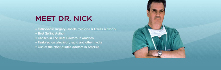Dr  Nicholas DiNubile | Orthopaedic Surgeon specializing in